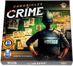 Chronicles of Crime Game - £26.50 @ Sold by docsmagic Fulfilled by Amazon