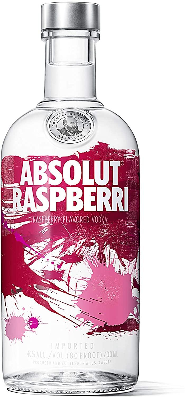Absolut Raspberri Flavoured Vodka 70 cl 40 % Vol £16.00 Prime / £20.49 Non Prime @ Amazon.