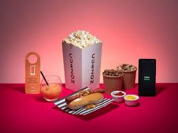 Curzon Cinema Food Bundle (Popcorn/ Honeycomb Bites/ Negroni/ Hot Dog/ Cup Holder + more) £3.50 Delivered @ Uber Eats (London Only)