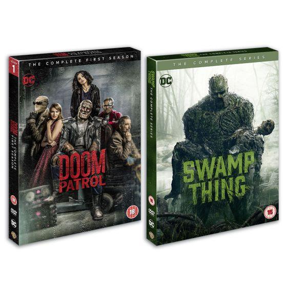 Doom Patrol And Swamp Thing Season 1 Bundle (DVD - Preorder) £31.49 using code @ Warner Bros Shop