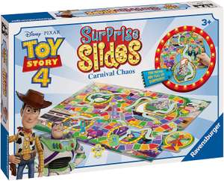 Ravensburger Disney Toy Story 4 Surprise Slides Game £9.99 (+ £4.49 NP) @ Amazon