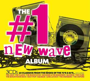 The #1 Album New Wave (3 CD Box Set: Jam / Clash / Blondie / Stranglers / Teardrop Explodes / Adam & The Ants etc) £4.11 + 99p NP @ Amazon