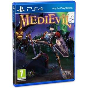 [PS4] Medievil + Steelbook - £15.95 delivered @ The Game Collection