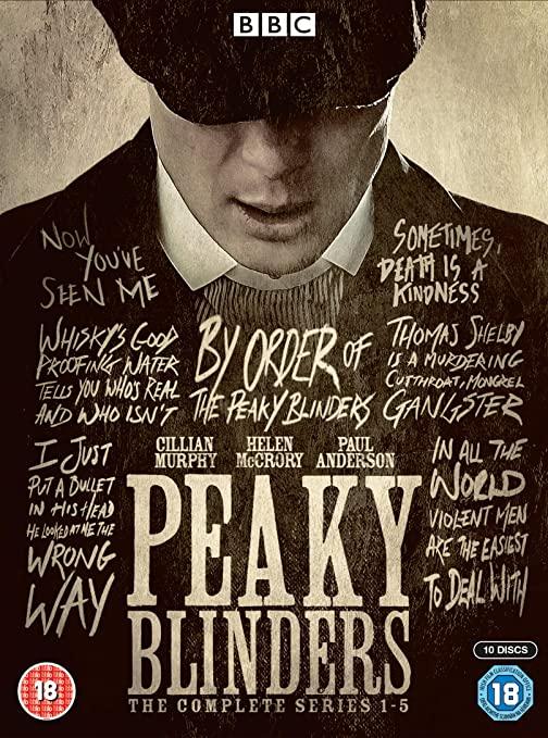 Peaky Blinders - Series 1 - 5 DVD Set £15.98 @ Amazon (+£2.99 non-prime)