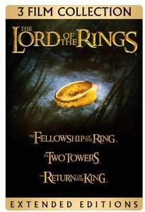 The Lord of the Rings: Extended Editions Bundle £14.99 at iTunes Store