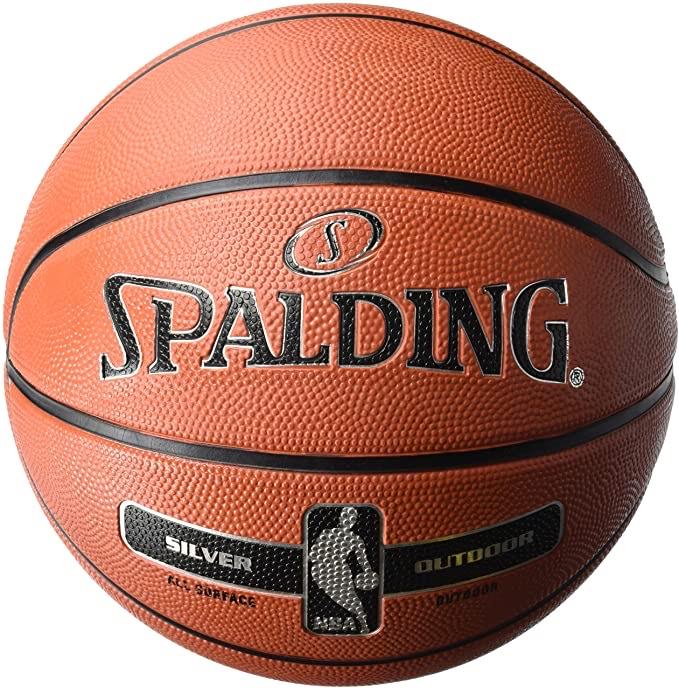 Spalding NBA Silver Outdoor Basketball Sze 7 £11.68 + £4.49 NP @ Amazon
