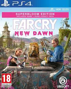 Far Cry: New Dawn - Superbloom Edition (PS4) + Hurk Legacy Pack - £12.99 delivered @ Coolshop