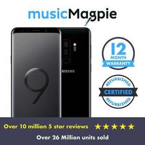 Samsung Galaxy S9 Plus Black 128GB Good Condition Vodafone Locked Smartphone For £199.99 Using Code @ MusicMagpie/Ebay