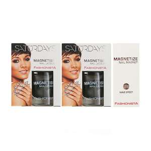 Fashionista The Saturdays Magnetism Nail Polish x2 10ml - 50p / £2.49 delivered @ Fragrance Direct