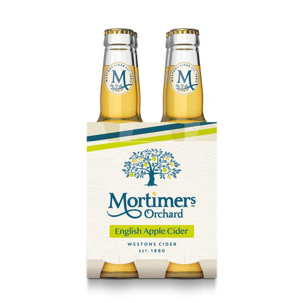 Mortimer's Orchard Cider - 24 x 330ML £20 at westons-cider