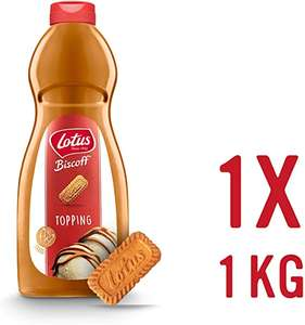 Lotus Biscoff Sauce 1KG Bottle £9.95 Prime / +£4.49 non Prime Sold by JM POSNER and Fulfilled by Amazon