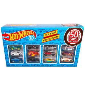 Hot Wheels 50 Car Pack £46.99 using code + Free Delivery @ Bargain Max