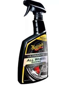 Meguiar's Ultimate All Wheel Cleaner down to £12.80 + £3.99 del at Halfords