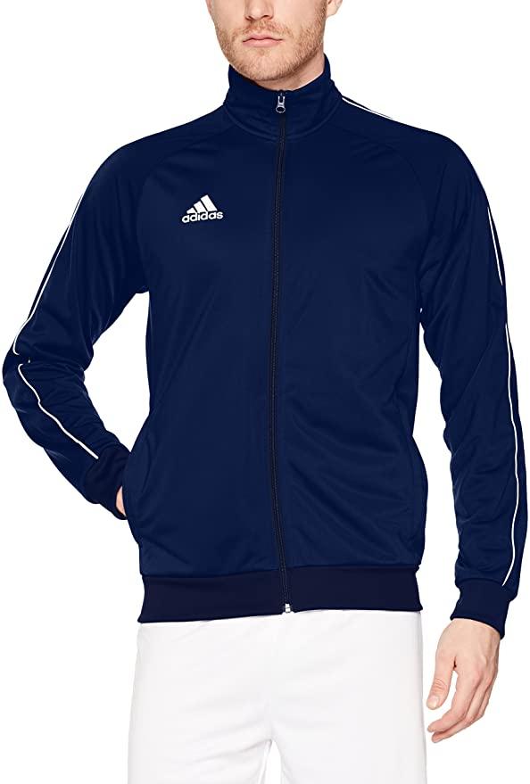 adidas Men's Core 18 Polyester Tracksuit Jacket £14.99 (Prime) + £4.49 (non Prime) at Amazon