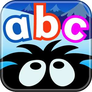 Hairy Letters (children's Educational App on iOS) Temporarily FREE on Apple App Store