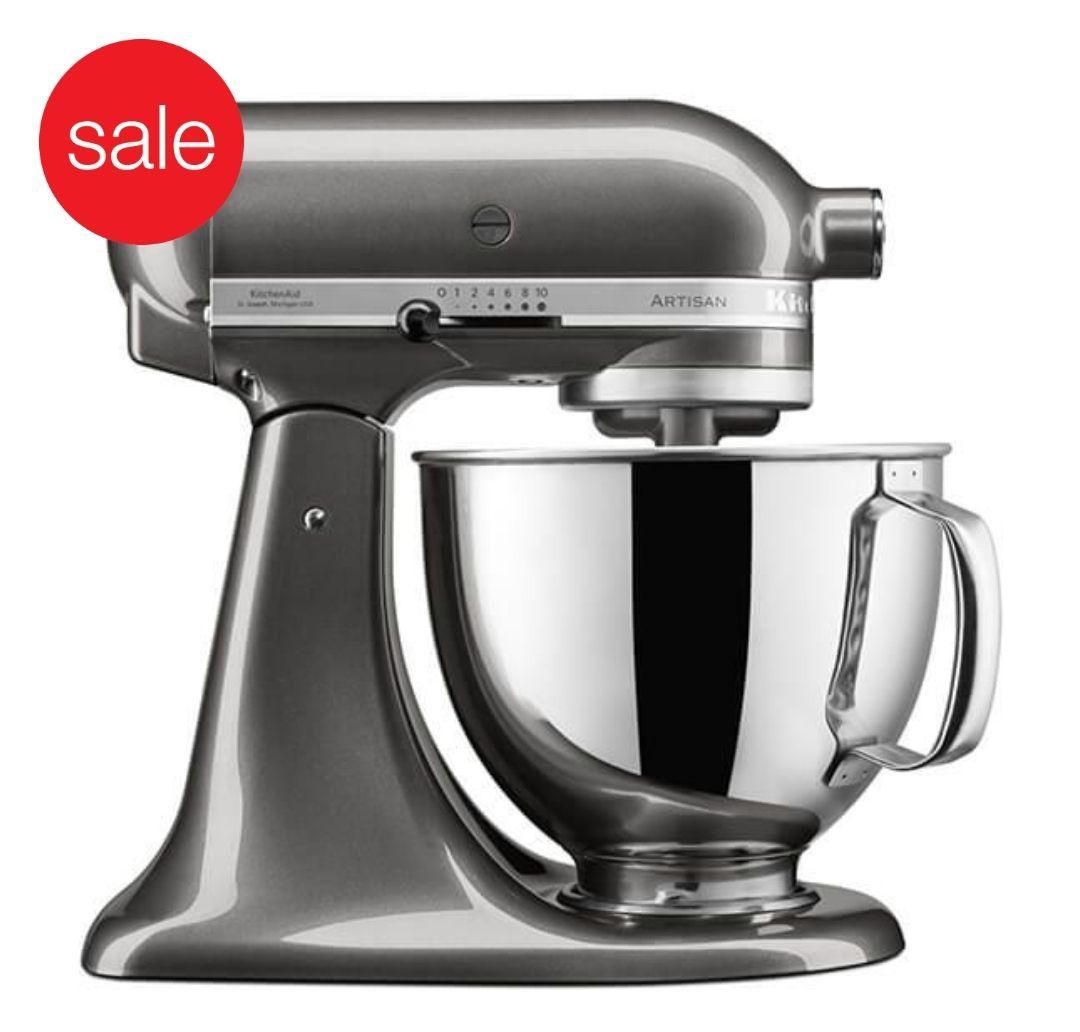KitchenAid KSM125BQG Artisan Mixer - Liquid Graphite - £299 at Oldrids & Downtown