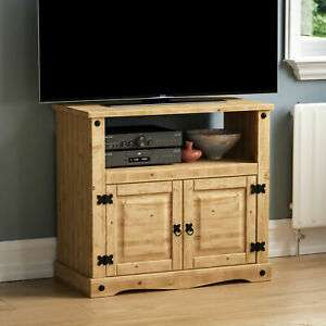 Straight TV Unit Solid Pine Mexican Cabinet Furniture By Home Discount 47.95 @ homediscountltd ebay