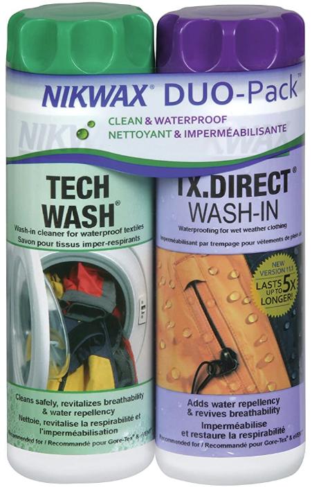 Nikwax Tech Wash/TX Direct 300ml Duo Pack - £6.40 (+£4.49 Non-Prime) @ Amazon