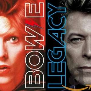 David Bowie - Legacy (The Very Best Of) Best Of David Bowie (CD with FREE MP3 of the album) £5.00 + £2.99 NP @ Amazon
