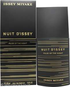 Issey Miyake Nuit d'Issey Pulse Of The Night Eau de Parfum 100ml £43.05 delivered @ Perfume Click