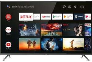 """TCL 50EP658 50"""" Smart 4K Ultra HD Android TV - Amazon £379"""