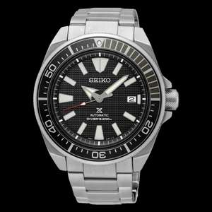 Seiko Samurai SRPB51K1 automatic divers watch £295 Simpkins Jewellers