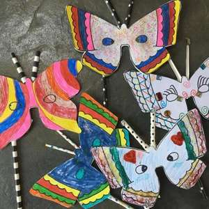 Butterfly Conservation family fun activity downloads for children
