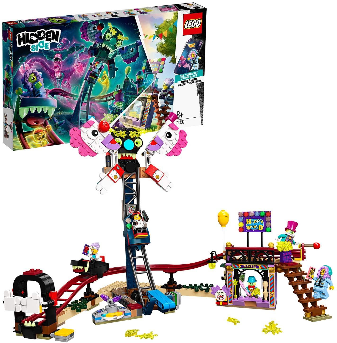 LEGO Hidden Side 70432 Haunted Fairground £36 delivered at Amazon
