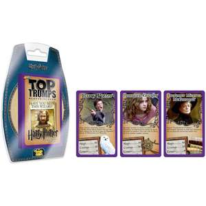 Top Trumps Card Game Clamshell - Harry Potter and the Prisoner of Azkaban - £1.99 with code at Zavvi + £1.99 delivery / free for Red Carpet