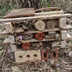 How to Build your own minibeast hotel in your garden at RSPB