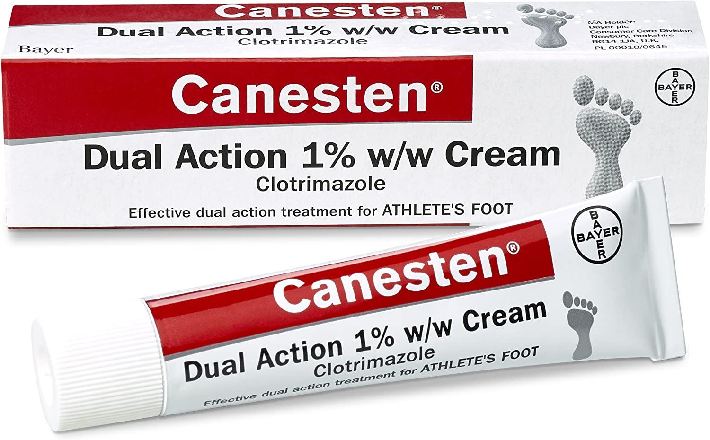 Canesten Athletes Foot Cream 30g £3.50 (Prime) / £7.99 (non Prime) / £3.33 with S&S at Amazon