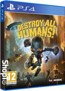 Destroy All Humans! (PS4/Xbox One) £30.84 Delivered (Preorder) @ Shopto