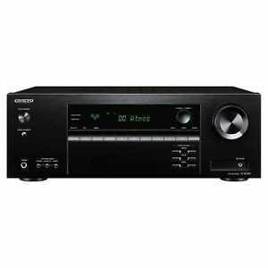 Onkyo TXSR393 5.1ch A/V Receiver with Bluetooth and Dolby Atmos - £191.20 - eBay/Hughes