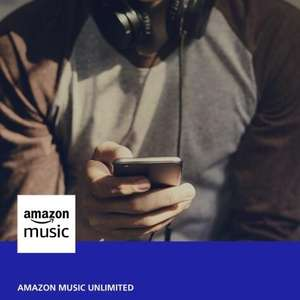 Amazon Music Unlimited, 6 months free with o2 priority (Account Specific)