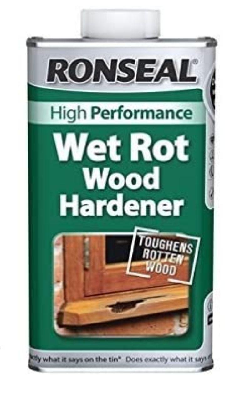 Ronseal Wet Rot Wood Hardener 500ml - £7.99 (Prime) £12.48 (Non Prime) @ Amazon