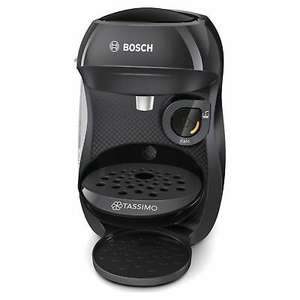 Bosch TAS1002GB Tassimo Happy Coffee Machine - Black/Red/Cream, £27.98 delivered at Hughes/ebay