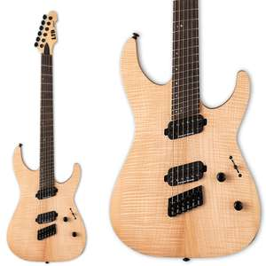 ESP LTD M-1000 Multi-Scale / Fanned Fret Electric Guitar In Natural Satin With Seymour Duncan Pickups - £699 Delivered @ Andertons