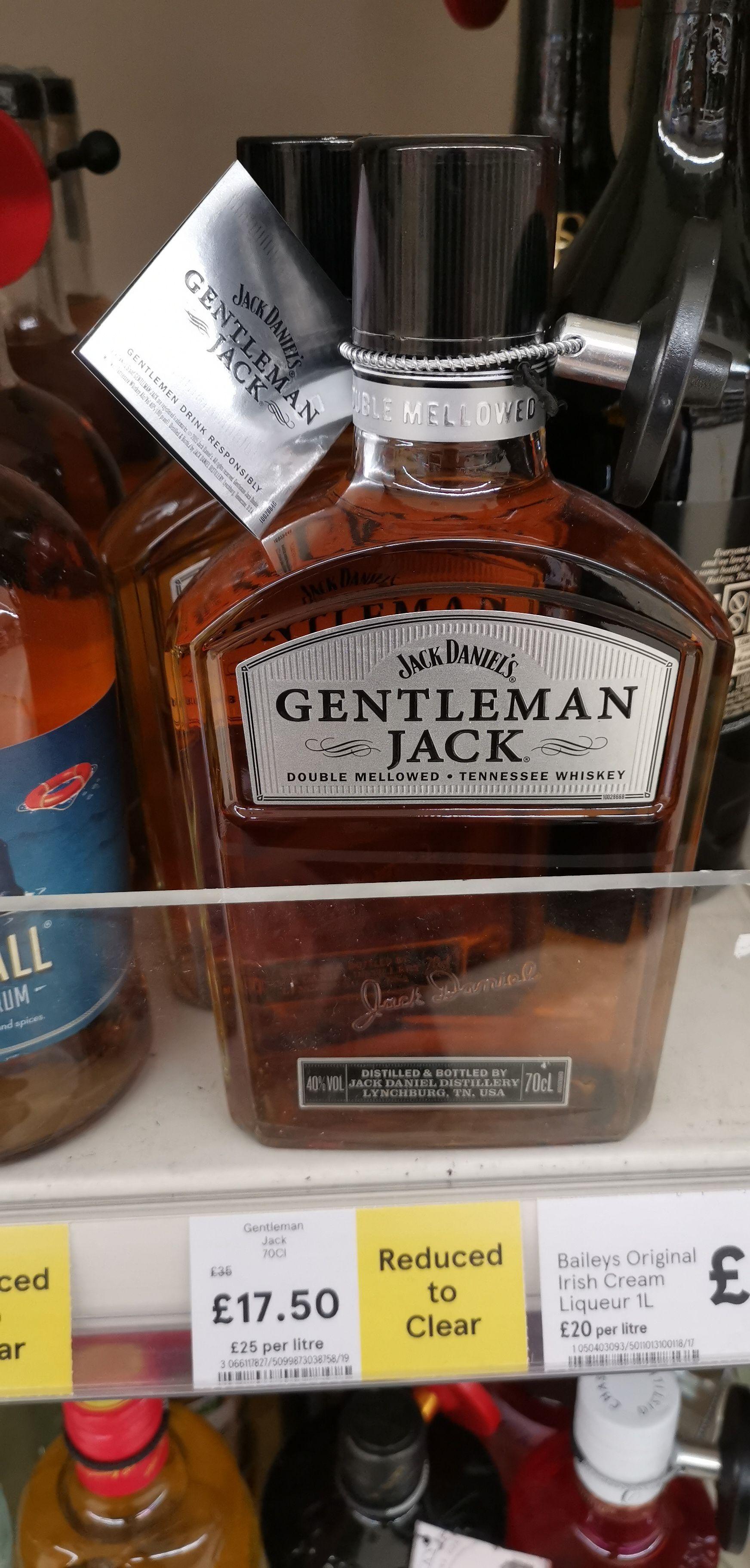 Jack Daniels Gentlemen Jack £17.50. @ Tesco Exeter