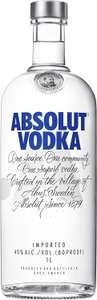 Absolut Vodka 1 litre (40%) Delivered for free at Amazon for £20
