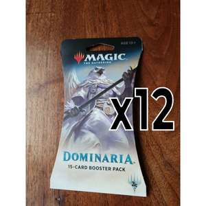 Magic The Gathering - Dominaria x12 Booster Packs £23.95 @ Chaos Cards