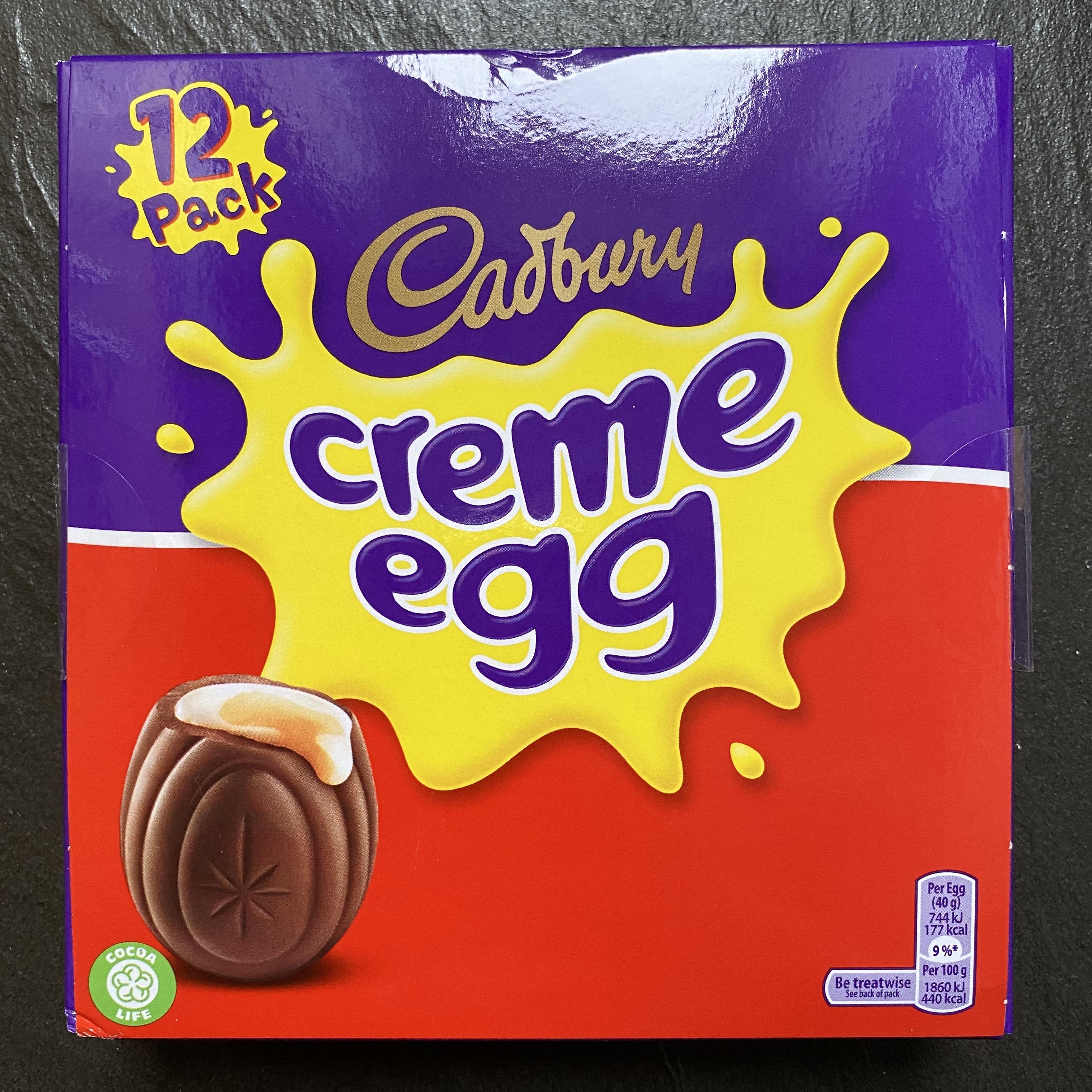 12 Cadbury Creme Eggs £2.45 - in store in Waitrose - Horley, Surrey