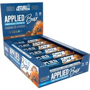 Applied Nutrition Protein Bars - 12 x 60g Bars (BBE 8/2020) - £8.99 (+£2.99 Postage) @ Bodybuilding Warehouse
