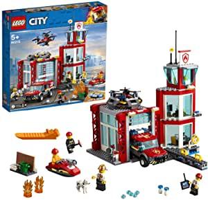 LEGO 60215 City Fire Fire Station Garage Building Set - £40 @ Amazon