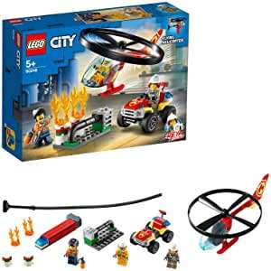 LEGO City 60248 Fire Helicopter Response with ATV Quad Bike - £13.50 (+£4.49 Non-Prime) @ Amazon