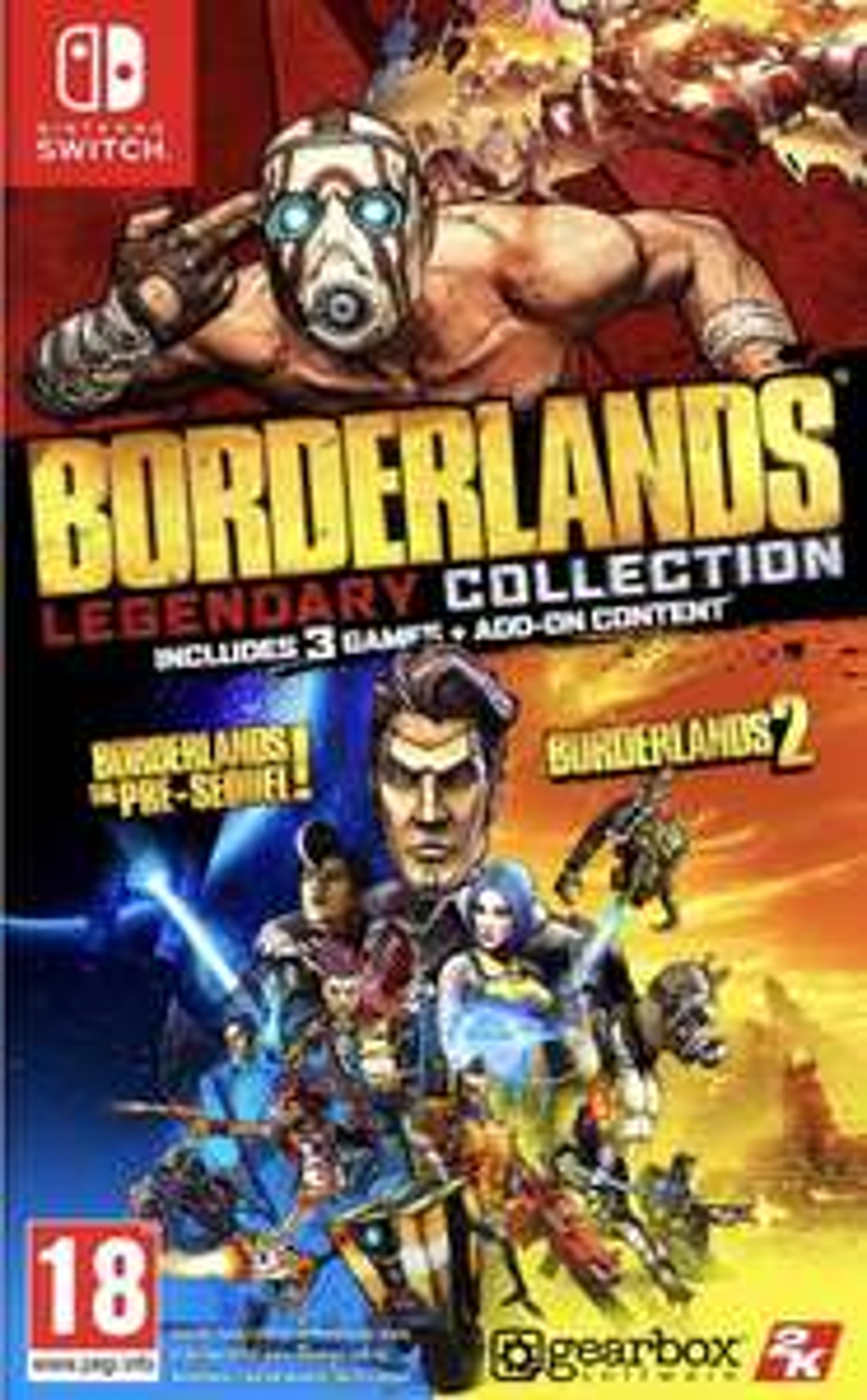 Borderlands Legendary Collection (Nintendo Switch) preorder - £33.85 @ Base