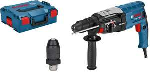 Bosch Professional GBH 2-28 F Rotary Hammer SDS + Interchangeable chuck & L-BOXX - £138.98 (£132 With Fee Free Card) Del. @ Amazon Germany