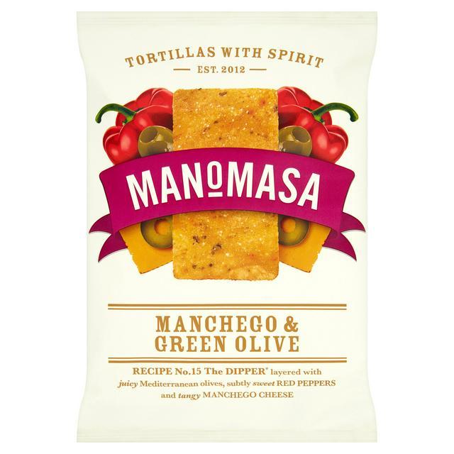 Manomasa Manchego & Olive Tortillas 160g £1 @ Sainsbury's