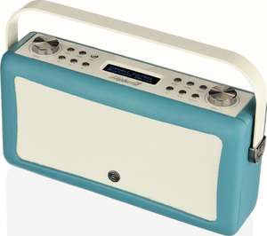 VQ Hepburn Mk II Portable DAB+/FM Bluetooth Radio - Teal £49.97 delivered at Currys PC World