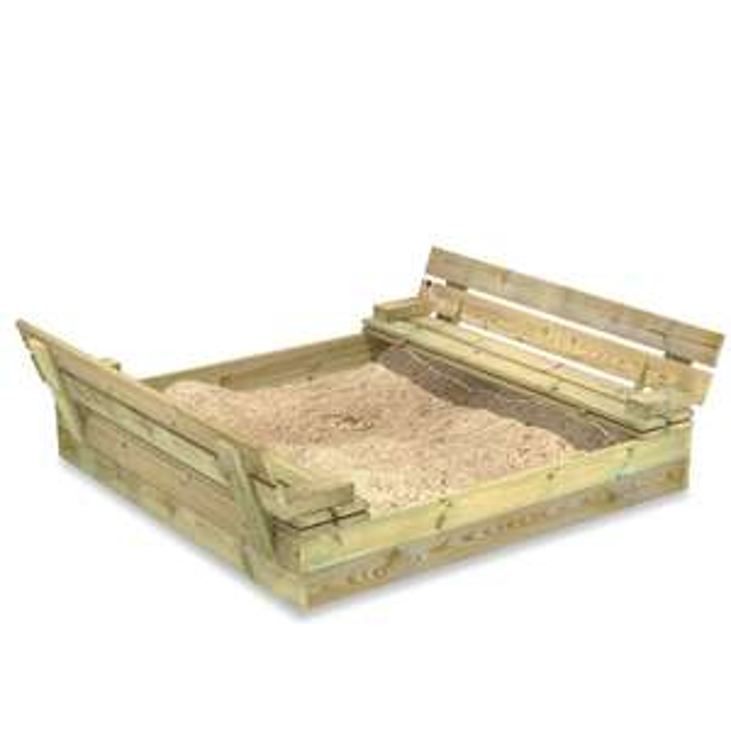 Wooden Flip sandbox / Sand Pit £74.99 delivered @ Wayfair