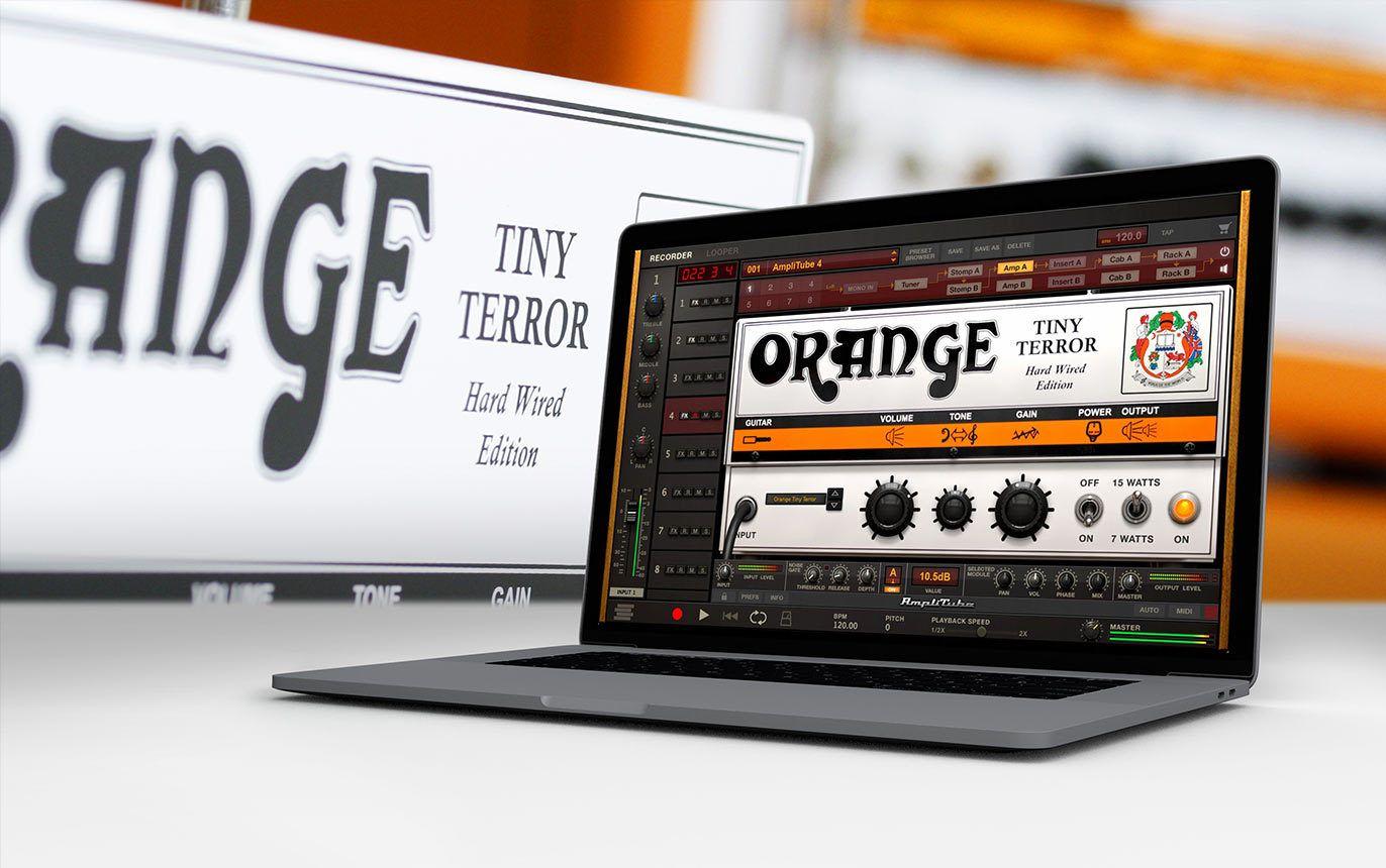 Free Orange Tiny Terror Amp to IK newsletter subscribers